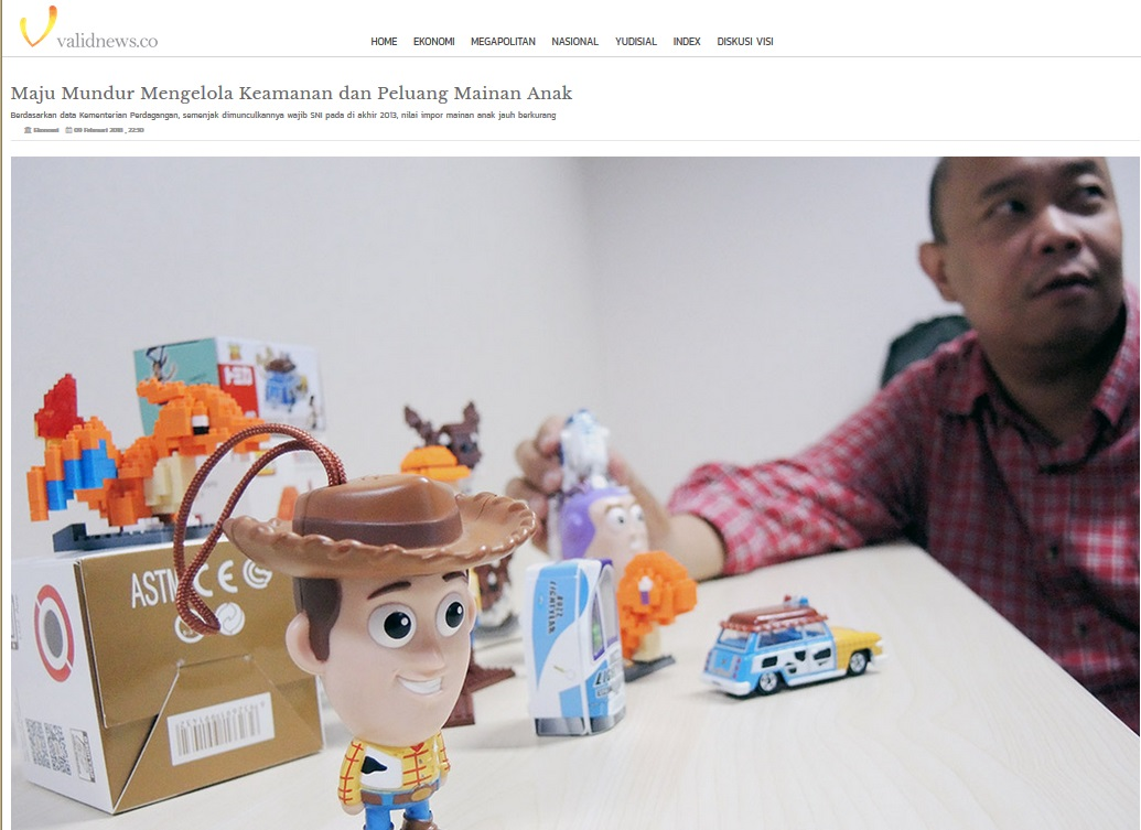 Maju Mundur Mengelola Keamanan Dan Peluang Mainan Anak Bsn Badan