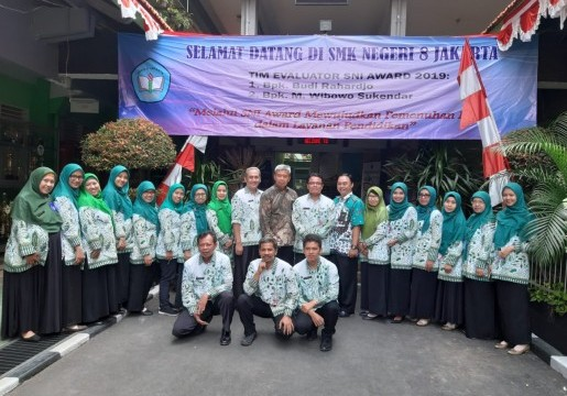 SMK N 8 Jakarta: Satu-Satunya Sekolah yang Lolos OnSite SNI Award 2019