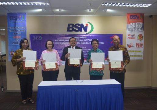 Komitmen BSN Dalam Penerapan Wilayah Bebas dari Korupsi dan Wilayah Birokrasi Bersih dan Melayani