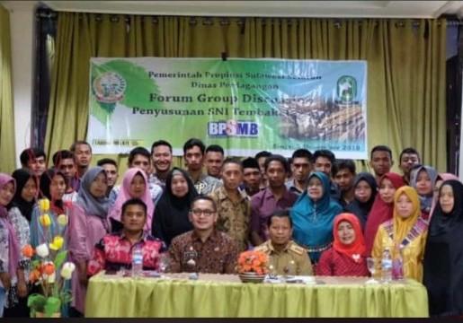 Optimalisasi Layanan Publik dan Forum Group Discussion Penyusunan Rancangan SNI Tembakau Diselenggarakan oleh UPTD BPSMB Sulawesi Selatan