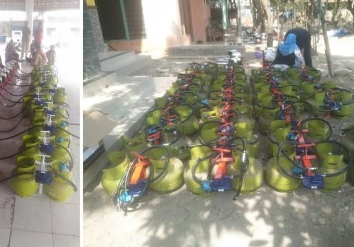 90 Nelayan Kecil di Palembang Terima Konverter Kit berSNI Binaan BSN