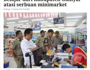 Belajar Dari Kabupaten Gianyar Atasi Serbuan Minimarket