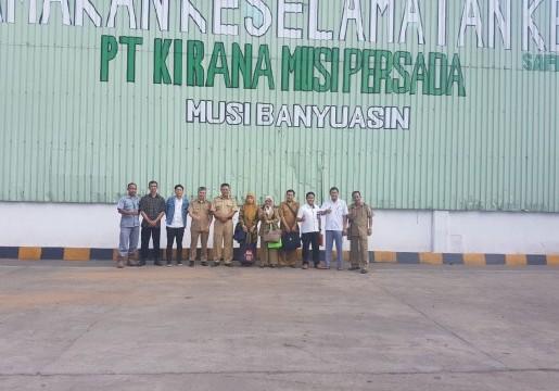 Tim Gubernur Sumsel untuk SNI Kunjungi Eksportir Karet