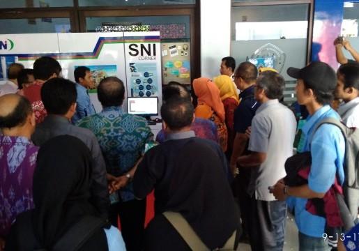 BSN Launching SNI Corner Di UPS Tegal