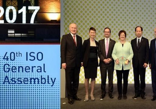 """""""Open minded open for change"""" menjadi tema dalam menghadapi tantangan dan peluang masa depan dibidang standardisasi dalam ISO General Asembly ke-40, Berlin, Jerman, 18-22 September 2017"""