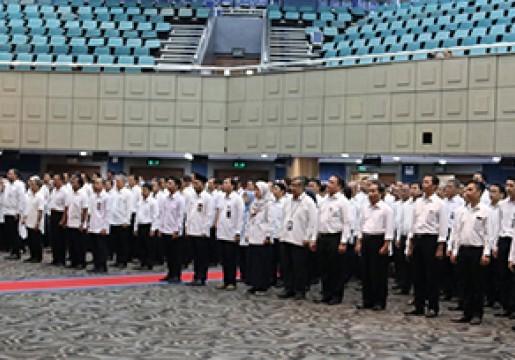 Peringatan Hari Sumpah Pemuda : Bangun Pemuda Satukan Indonesia