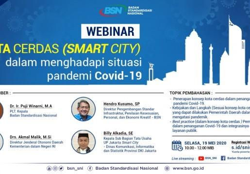 SNI Kota Cerdas untuk Menghadapi Pandemi Covid-19