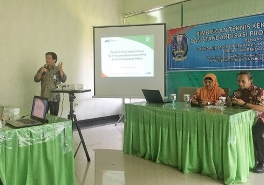 Tingkatkan Daya Saing IKM, Disperindag Provinsi Jatim Gelar Bimtek KI dan Standardisasi