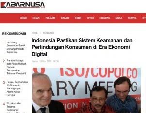 Indonesia Pastikan Sistem Keamanan dan Perlindungan Konsumen di Era Ekonomi Digital