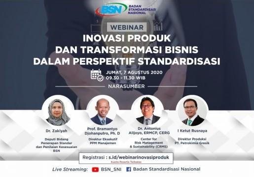 Standardisasi Mendukung Budaya Inovasi serta Transformasi Bisnis
