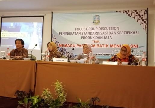 Sinergi KLT BSN Surabaya dengan Pemprov Jatim: Pacu IKM Batik Terapkan SNI