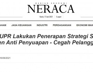 Menteri PUPR Lakukan Penerapan Strategi Sistem Manajemen Anti Penyuapan - Cegah Pelanggaran dan Korupsi