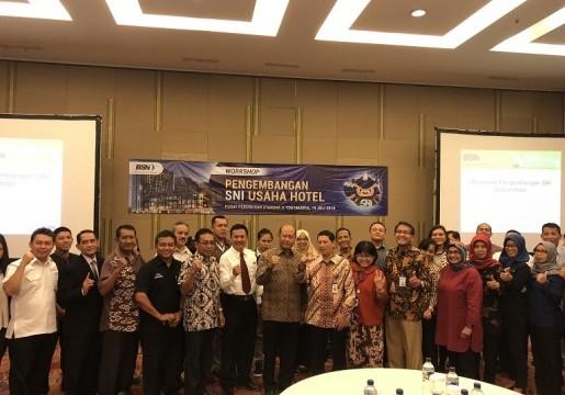 Workshop Pengembangan SNI Usaha Hotel di Yogyakarta