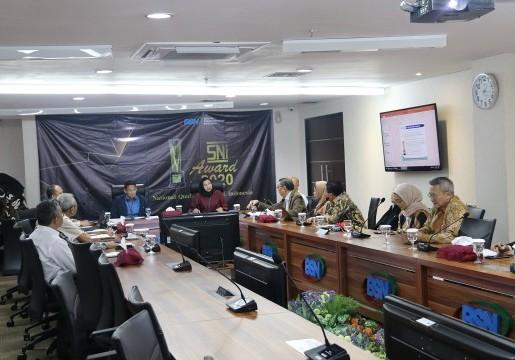 BSN Siapkan SNI Award 2020, Sandiaga Uno Jadi Ketua Dewan Juri