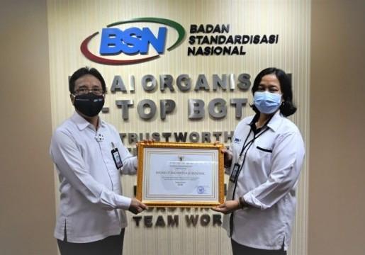 TOP BGT, BSN Raih Penghargaan Penerapan Sistem Merit