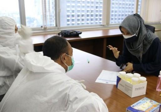 BSN Laksanakan Tes Urine untuk Dukung Hari Narkotika Internasional