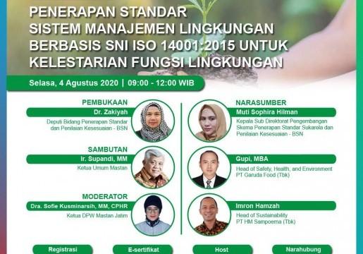 Capai SDGs dengan SNI Sistem Manajemen Lingkungan