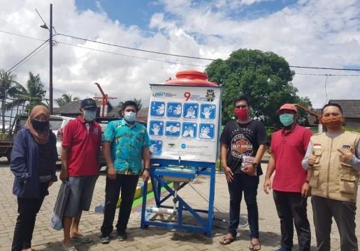 IWSH Gandeng BSN berikan Donasi APD untuk Masyarakat Makassar