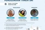BSN Revisi Peraturan Tata Cara Pemberian Persetujuan Penggunaan Tanda SNI