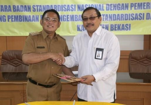 BSN Akan Dirikan Kantor Layanan Teknis di Kabupaten Bekasi