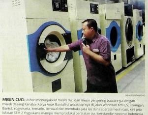 Mesin Laundry KANABA ber-SNI