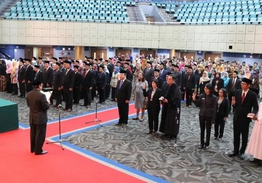 Struktur Organisasi Baru, Kepala BSN Lantik 98 Pejabat