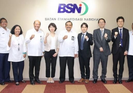 BSN – MAFF Jajaki Kerjasama Standardisasi dan Penilaian Kesesuaian Bidang Pangan