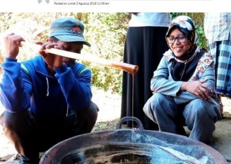 PLN Bantu Industri Gula Semut Aren