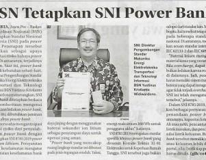 BSN Tetapkan SNI Power Bank