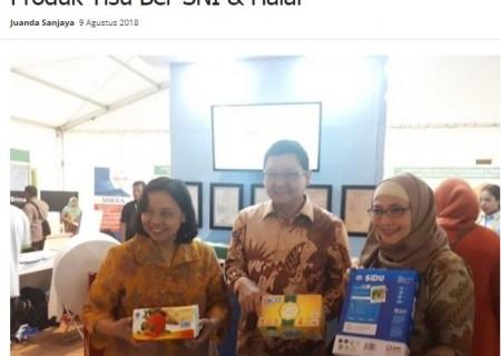 Ritech Expo 2018, Stand BSN Pamerkan Produk Tisu ber-SNI & Halal