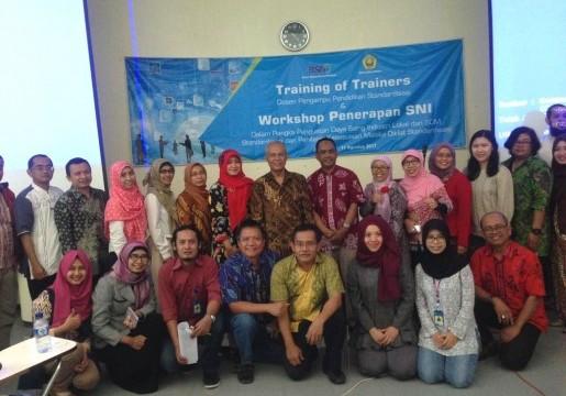 Training of Trainer Dosen Pengampu Pendidikan Standardisasi dan Workshop Penerapan SNI di Universitas Negeri Jember