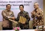 BSN dan UNS Lanjutkan Jalinan Kerjasama