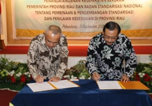 Tingkatkan Daya Saing Produk Lokal, BSN Siapkan Kantor Layanan Teknis di Riau