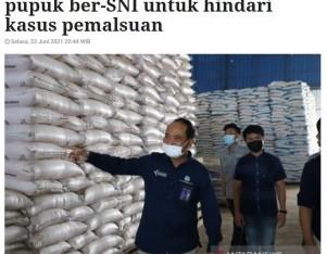 KTNA Jabar ajak petani gunakan pupuk ber-SNI untuk hindari kasus pemalsuan