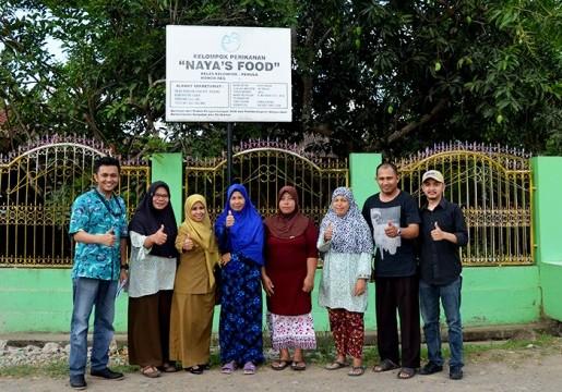 KLT BSN Makassar Identifikasi Gap Analisis UKM Naya's Food