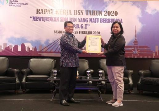 BSN Tingkatkan Profesionalisme Dengan SNI SMKI dan SMM