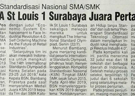 Kompetisi Standardisasi Nasional SMA/SMK