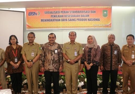 Standardisasi dan Penilaian Kesesuaian Pendongkrak Ekonomi di Riau