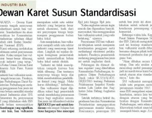 Dewan Karet Susun Standardisasi