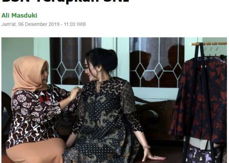IKM Batik di Jawa Timur Dibina BSN Terapkan SNI