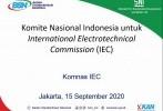 BSN Kembangkan Standar Berbasis IEC di Masa Pandemi