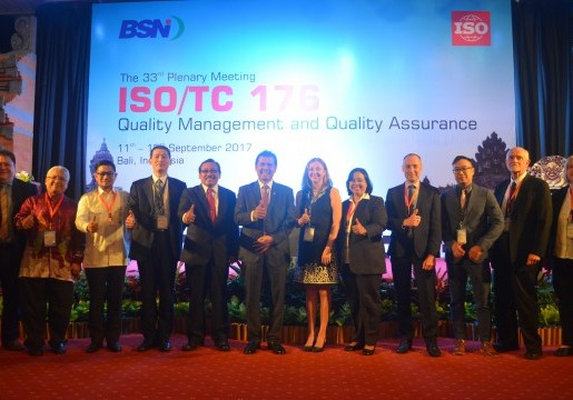 Indonesia Tuan Rumah Sidang Pleno ke-33 ISO/TC 176 Quality Management and Quality Assurance di Bali