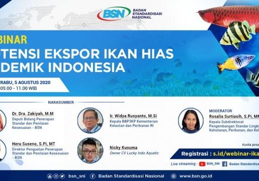 Peningkatan Potensi Ekspor Ikan Hias Indonesia Melalui Standardisasi