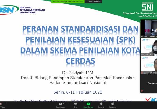 BSN Gelar Capacity Building Skema Penilaian Kota Cerdas