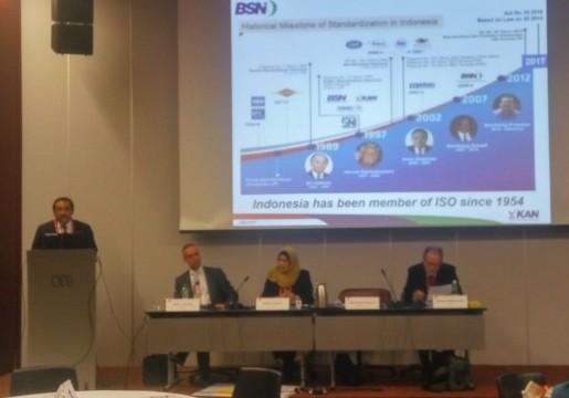 Indonesia Berpartisipasi Aktif dalam Sidang ke-52 ISO DEVCO
