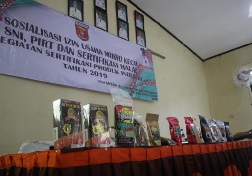 BSN Bina UMK Kopi Lampung Barat Menerapkan SNI
