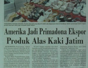 Amerika Jadi Primadona Ekspor Produk Alas Kaki Jatim
