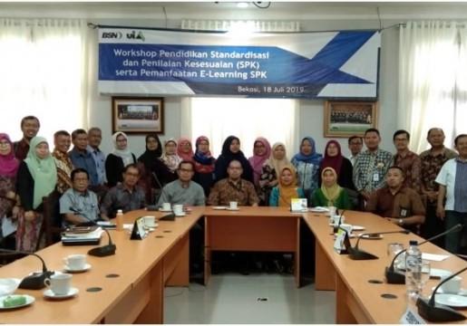 Workshop Pendidikan Standardisasi dan Penilaian Kesesuaian (SPK) dan Pemanfaatan E-Learning SPK di Universitas Islam As-Syafi'iyah
