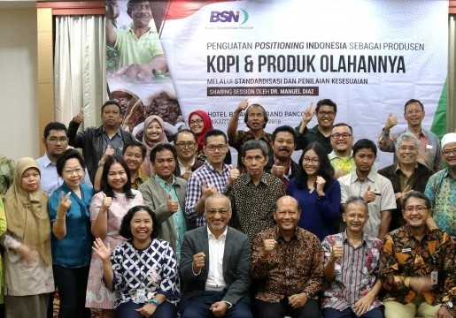 Tingkatkan Produktivitas Kopi Indonesia, BSN Kembangkan SNI Kopi