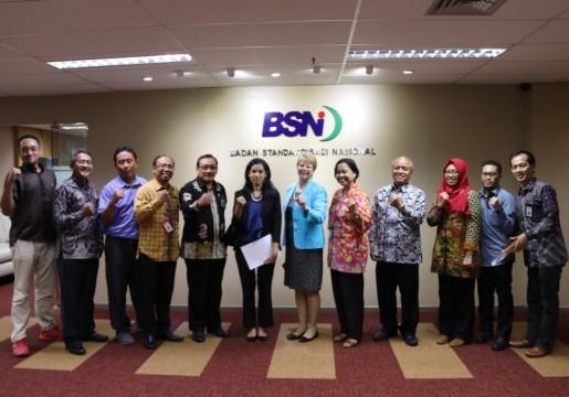 BSN dan ASTM Jajaki Kerjasama Pengembangan Standar